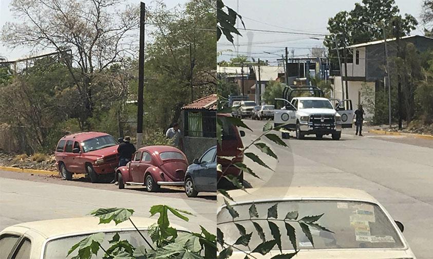 camioneta calzado Apatzingán robo
