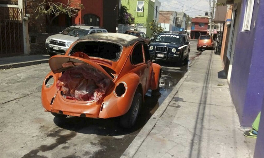 fuego volcho naranja Morelia