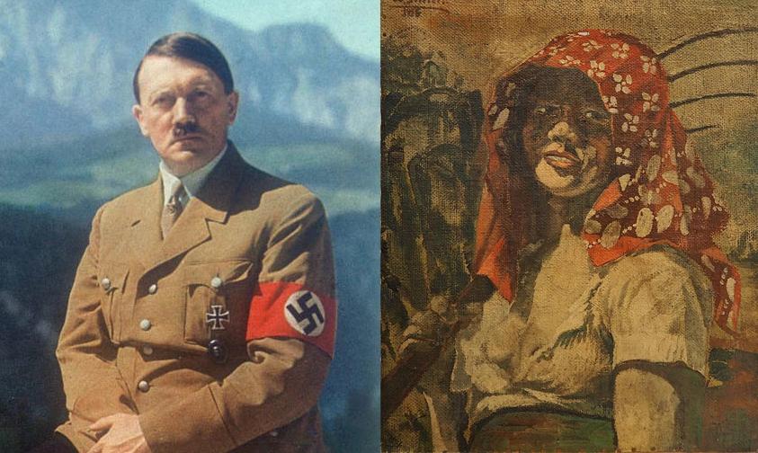 Photo of Subastaran Retrato Hecho Por Hitler Para Su Amante