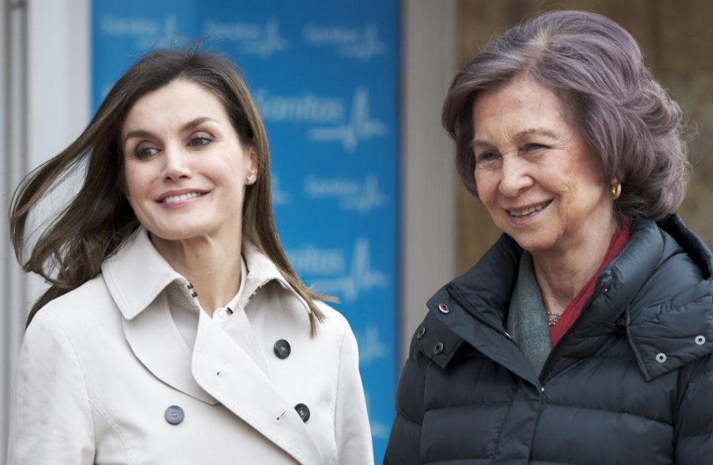 Photo of Las Reinas Sofía Y Letizia Ya Son Amiguis Por El Bien De La Familia Real