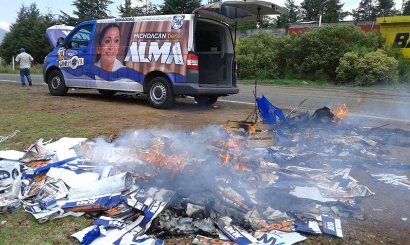 Photo of Segundo Día De Tensión en Nahuatzen Tras Sabotaje De Consulta