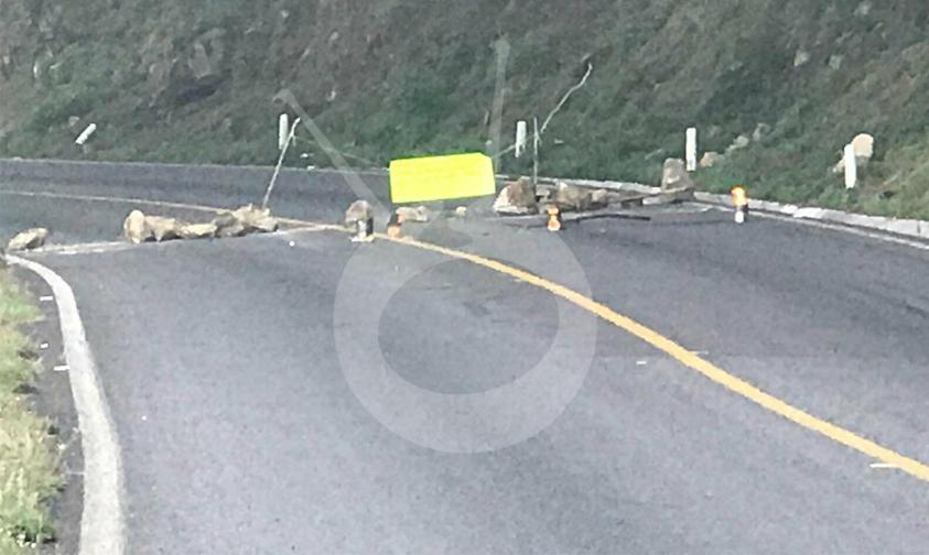 Photo of Cerrada La Carretera Libre Uruapan-Pátzcuaro Por Diferencias Entre Comuneros