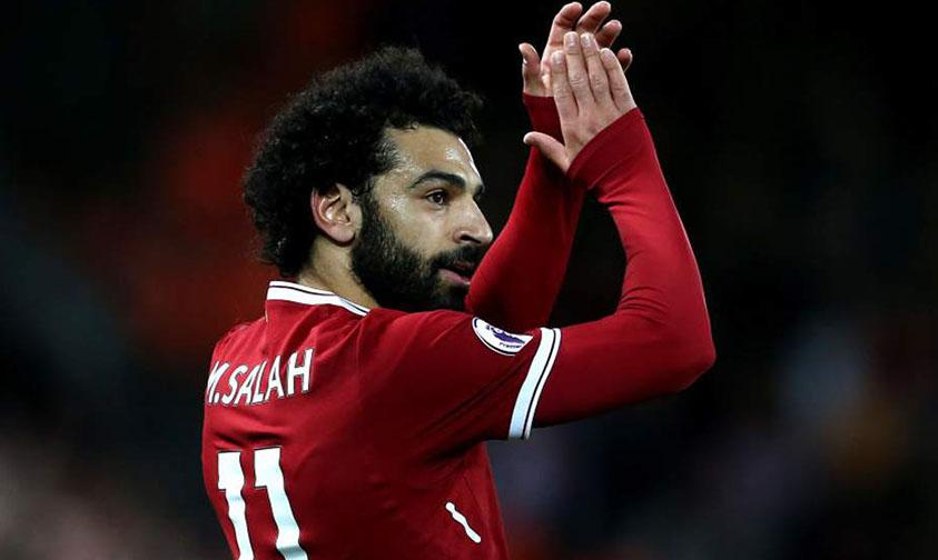 Mohamed Salah donación agua potable