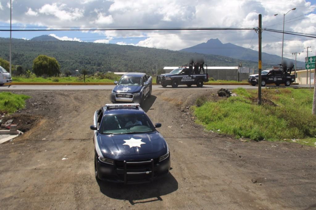 Photo of Despliega SSP Operativo De Policía Michoacán En Meseta Purépecha