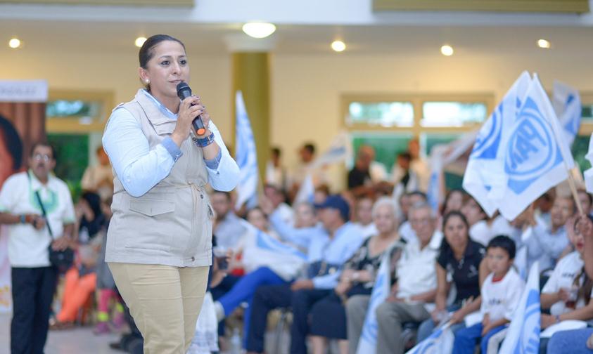 Photo of Compromete Alma Mireya González FortalecerEl Campo Michoacano