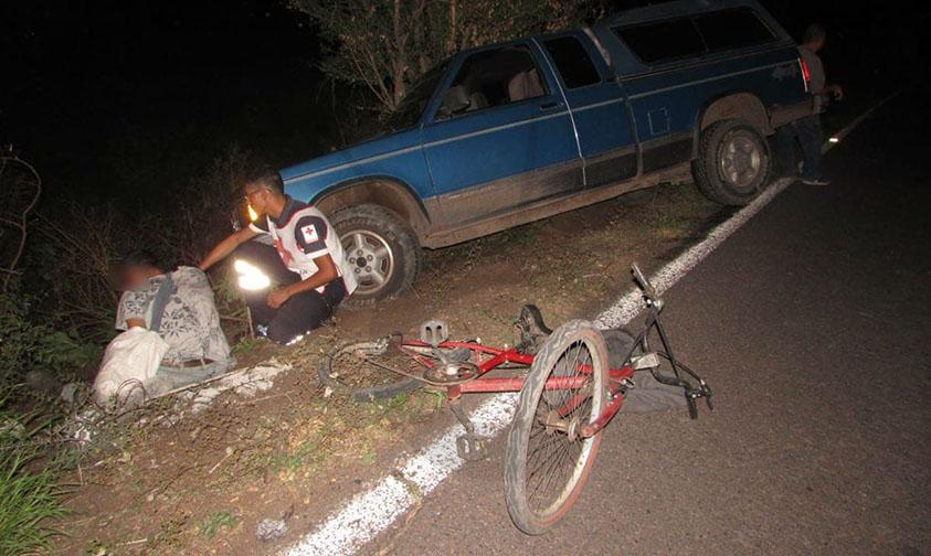 arrollar ciclista Zamora