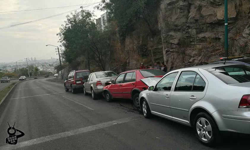 autos chocan Morelia Casa de Gobierno
