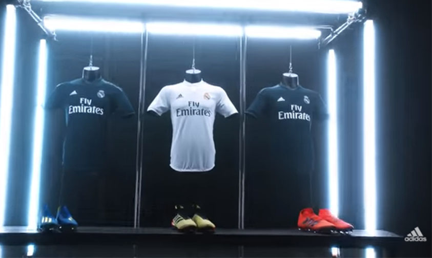 playera Real Madrid futbol español