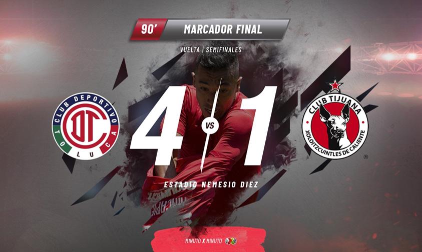Photo of Los Diablos Del Toluca Primeros Finalistas Del Clausura 2018