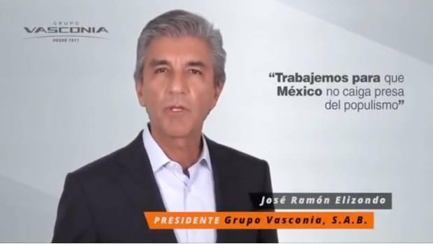 Photo of #Video Evitemos Que El Populismo Gane El 1 De Julio Dice Presidente De Vasconia