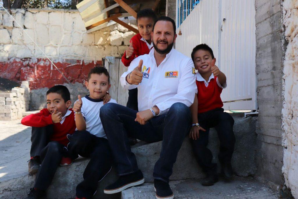 Photo of Compromete Mauricio Prieto Mayor Gestión Para Mejorar Espacios Educativos
