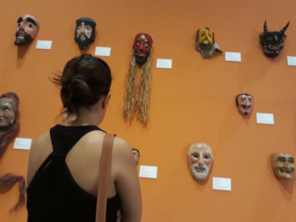 Photo of Con Harta Calor Inauguran Exposición De Arte Sobre Origen Del Chamanismo En El Clavijero
