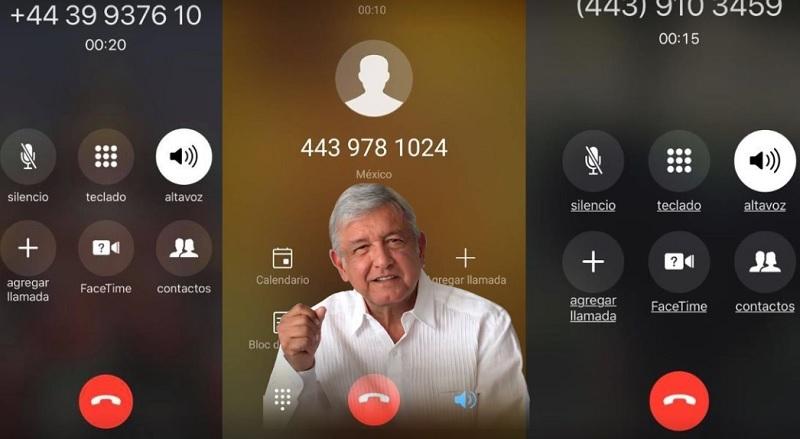 Photo of #VIDEO Se Sueltan Llamadas Telefónicas A Usuarios Morelianos Contra López Obrador