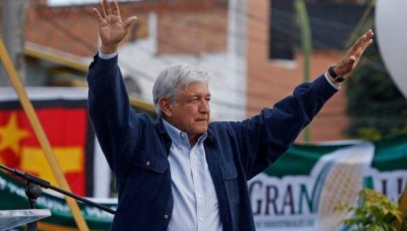 Photo of López Obrador Confía Que Lo Dejen Festejar Triunfo En El Zócalo El 1 De Julio
