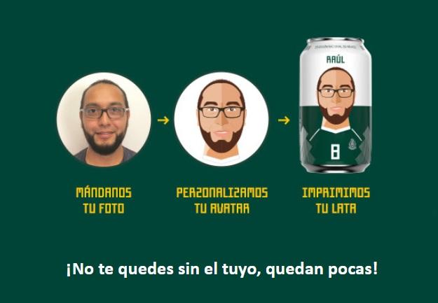 Photo of Corona Personalizará Latas De Chela Con Tu Bella Carita Como Avatar En Apoyo A La Selección