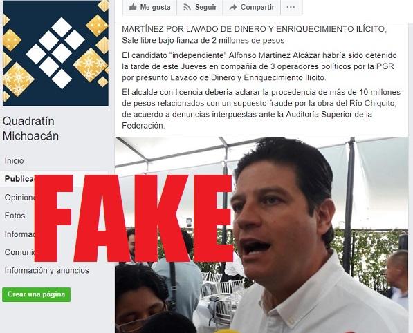 Photo of También Reactivaron Fanpage FAKE De Quadratin Para Atacar A Alfonso De Nuevo