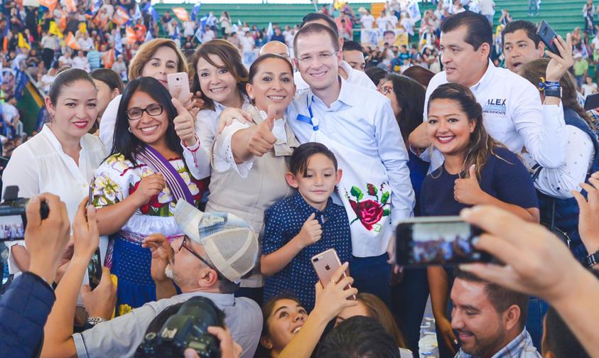 Photo of Ricardo Anaya Triunfó El Debate Y Ganará Las Elecciones: Alma Mireya González