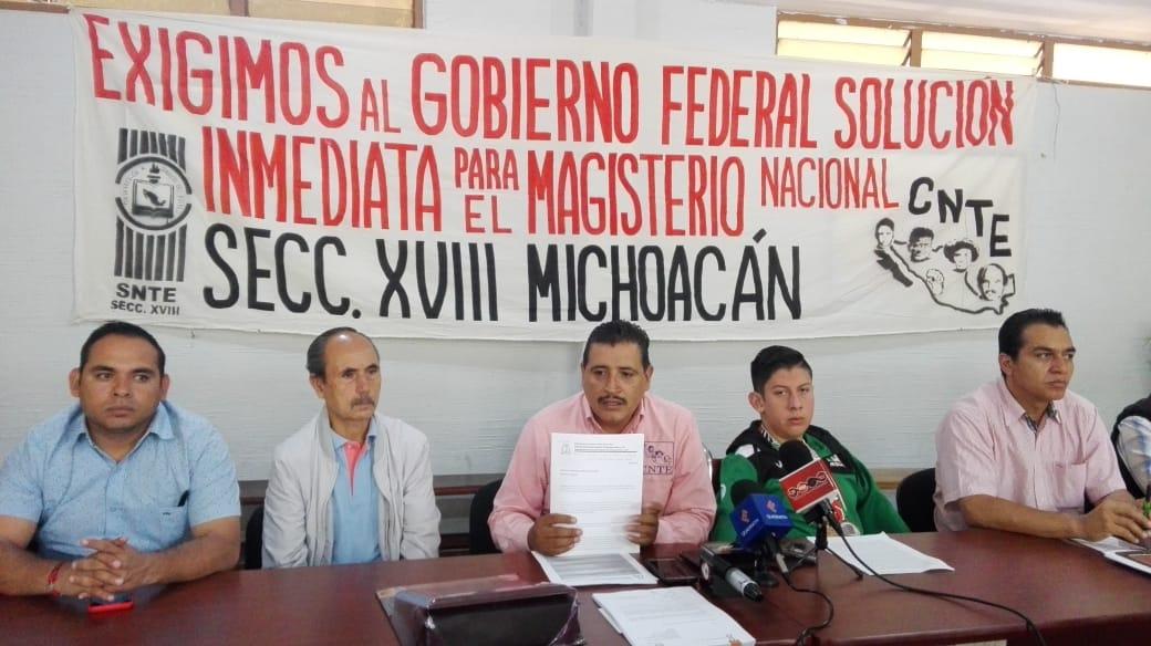 """Photo of Llama CNTE A Sus Agremiados A No Votar Por Impulsores Del """"Pacto Contra México"""""""