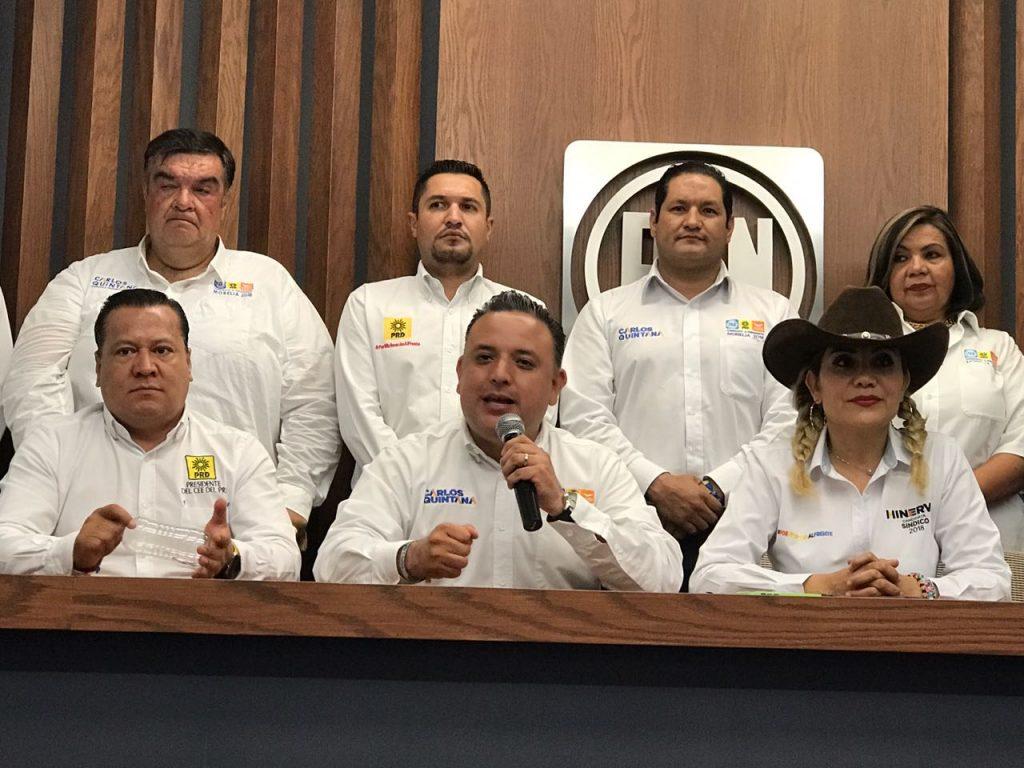 Photo of Carlos Quintana Con 7 Puntos Arriba De Sus Adversarios