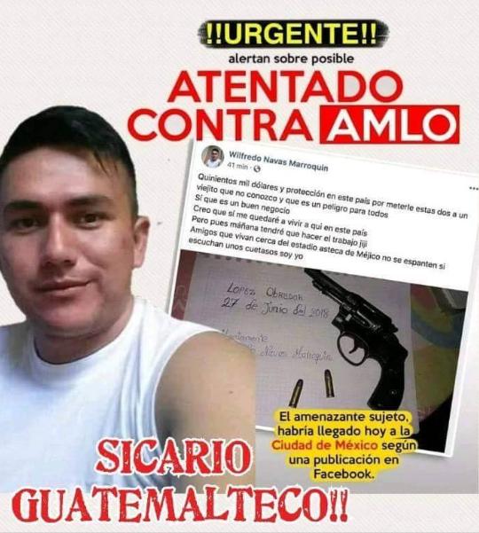 Photo of Durante AMLOFEST Difunden Supuesta Amenaza De Muerte Hacia López Obrador