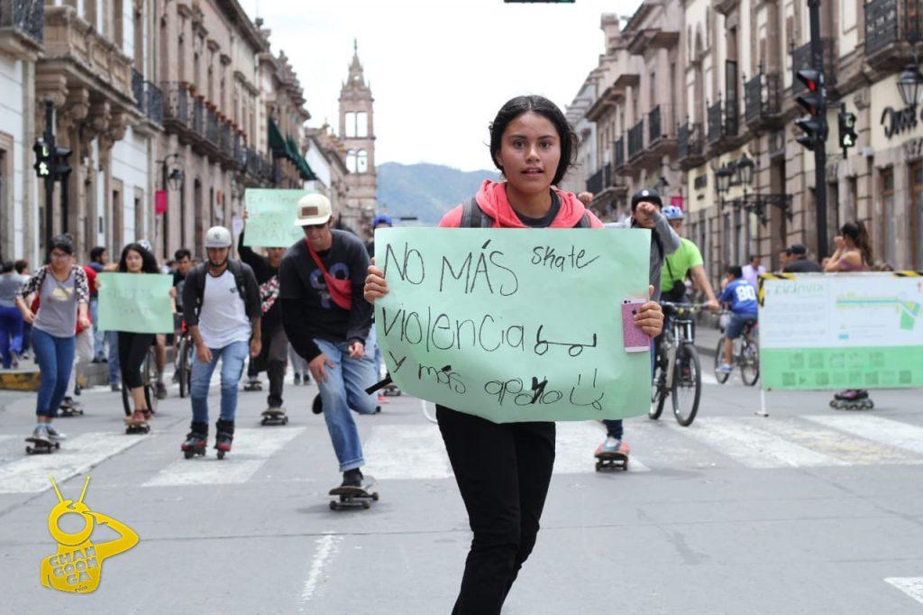 Photo of #Morelia Chavos Patinan Contra La Violencia Policial