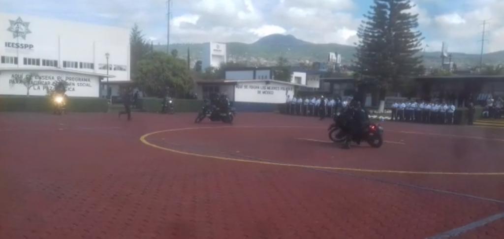 Photo of #Vídeo Al Estilo Rocky Moto Patrulleros Demuestran Habilidades Del Curso Táctico Policial