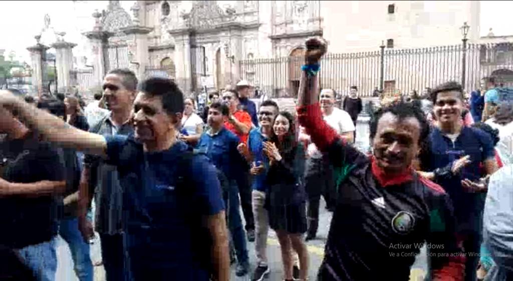 Morelia as vivieron el triunfo de m xico los morelianos for Noticias de ultima hora espectaculos mexico