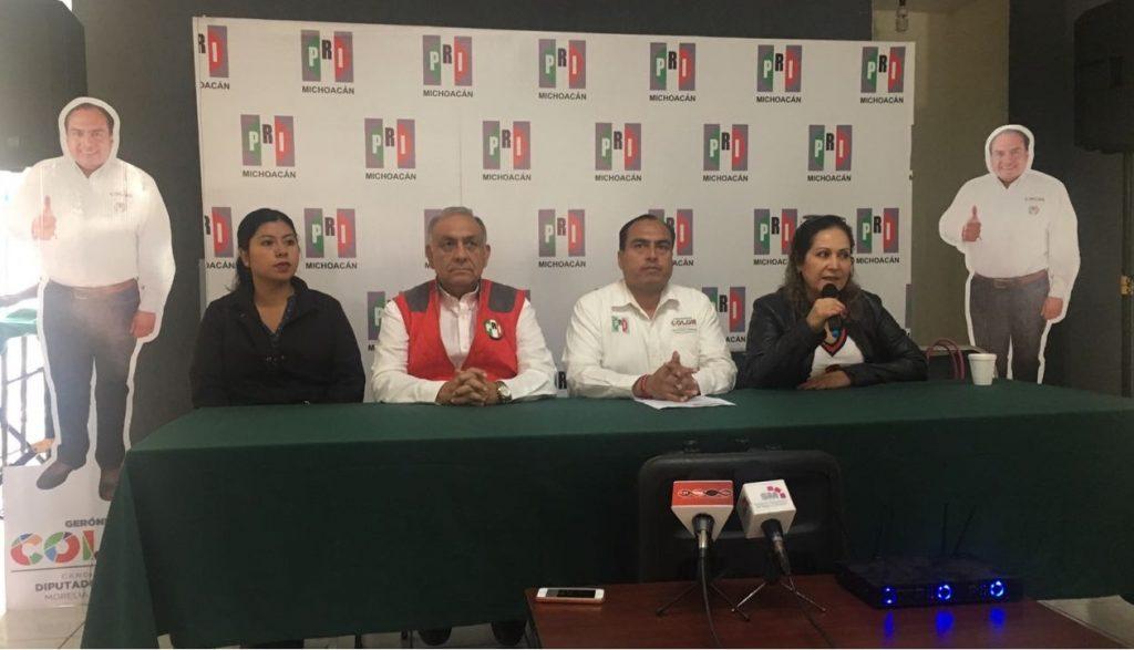 Photo of #Michoacán Vamos A Consolidar El Triunfo De Meade: Gerónimo Color