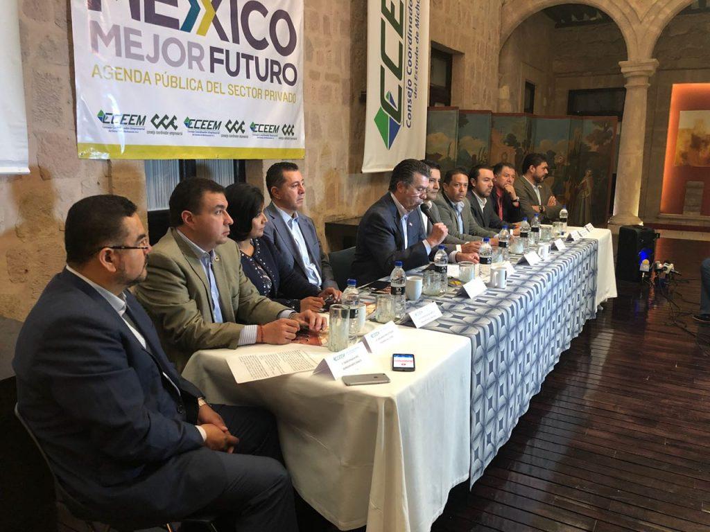 Photo of #Michoacán Empresarios Establecen Agenda Pública Que Reduzca Legisladores Y Propicie Segunda Vuelta En Voto Presidencial