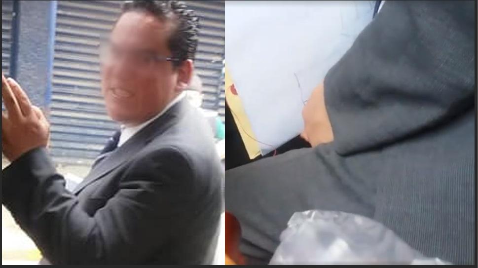 Photo of #Video Chica De La UNAM Reclama A Viejo Que Se Masturba A Su Lado En Transporte