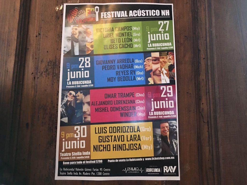 Photo of #Morelia Festival Acústico De Nicho Hinojosa Con 4 Fechas En Junio