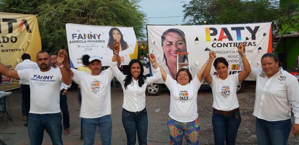 Photo of Fanny Arreola Alienta A Los Michoacanos A Votar Por Los Candidatos Del Frente Por Michoacán