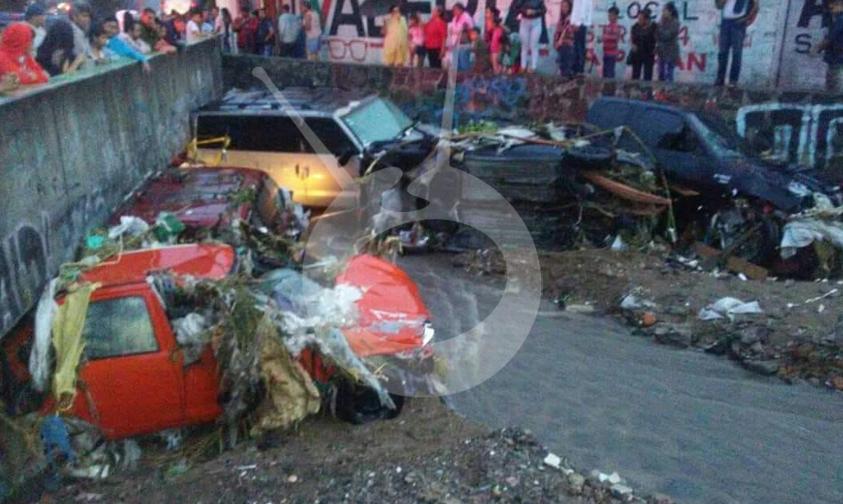 Photo of En Zapopan Árboles Caídos, Autos Arrastrados Y Personas Rescatadas Deja Diluvio Ayer