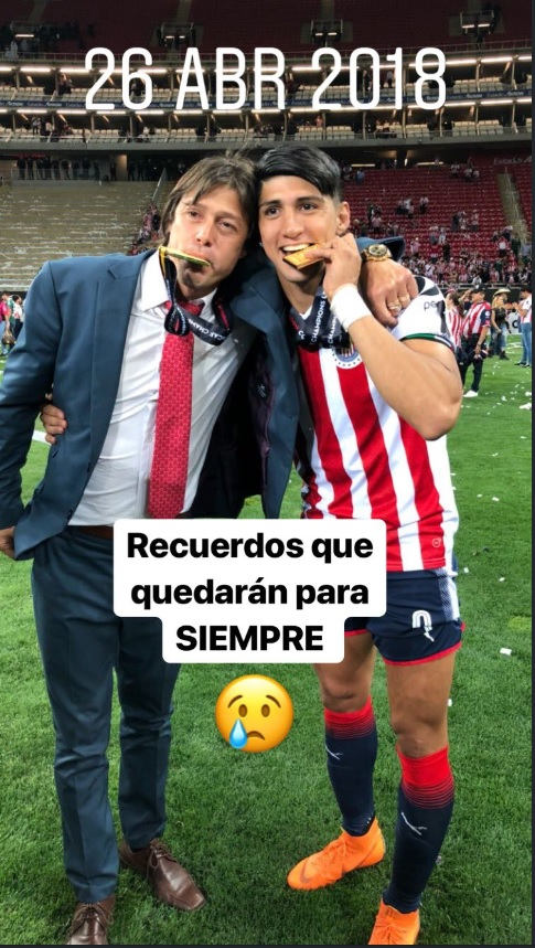 Photo of Con Emotivos Mensajes En Twitter, Pulido Se Despide De Almeyda Y Casi Chilla…