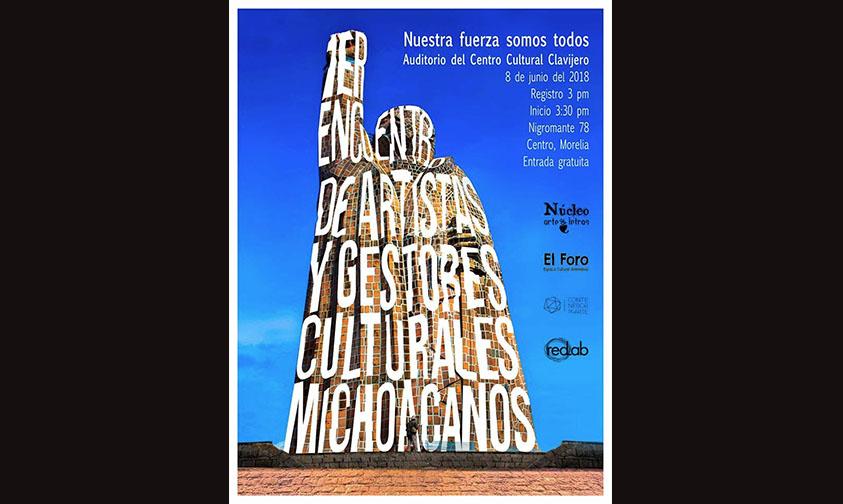 artistas gestores Michoacán