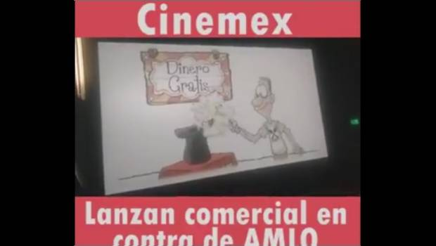 Photo of #Vídeo Cinemex Proyecta Corto Contra AMLO