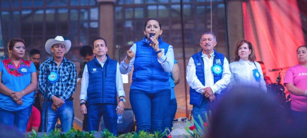 Photo of Alma Mireya González Será Incansable En La Defensa De Los Michoacanos Desde El Senado
