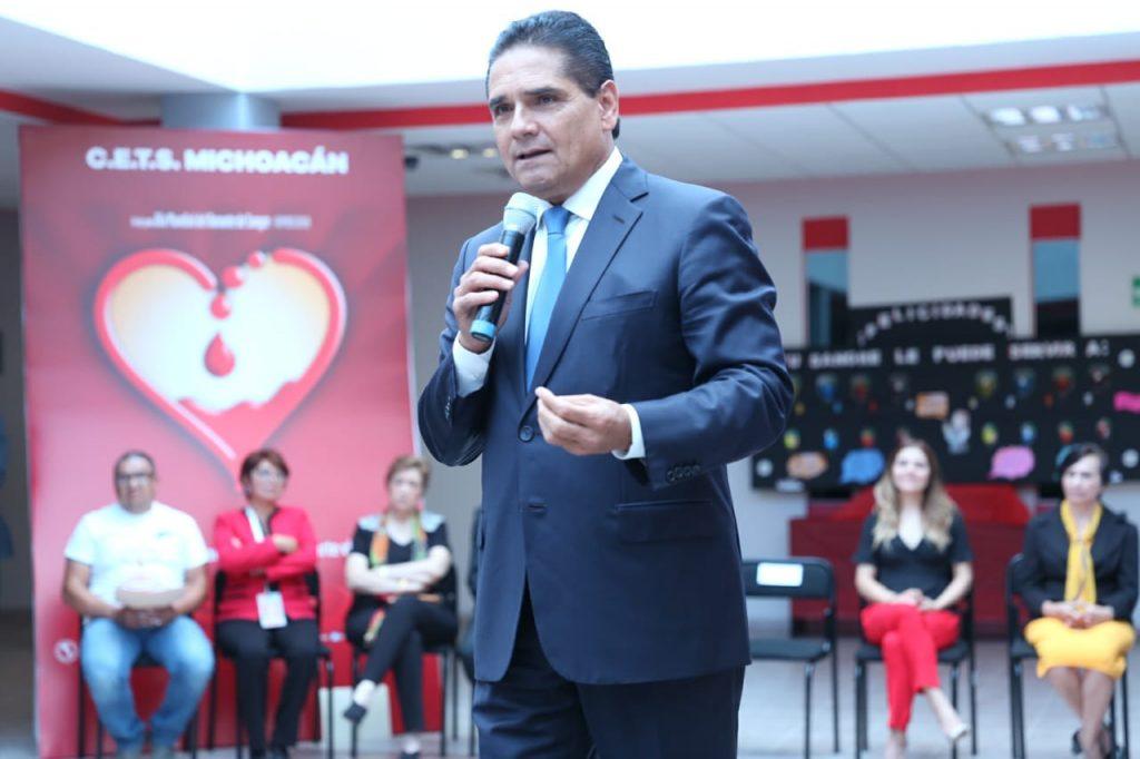 Photo of Silvano Aureoles Promueve La Donación Altruista De Sangre