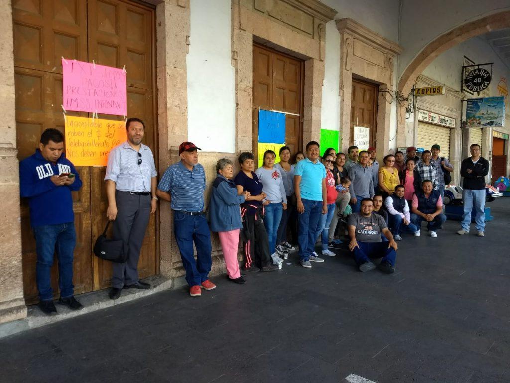 Photo of #Michoacán Profes De Telebachillerato Toman Acciones A Falta De Cumplimiento A Demandas