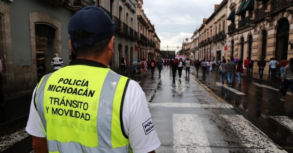 Photo of #Morelia Por Visita DeAMLO Y Pepe Meade Sigue La Seguridad En Centro Histórico