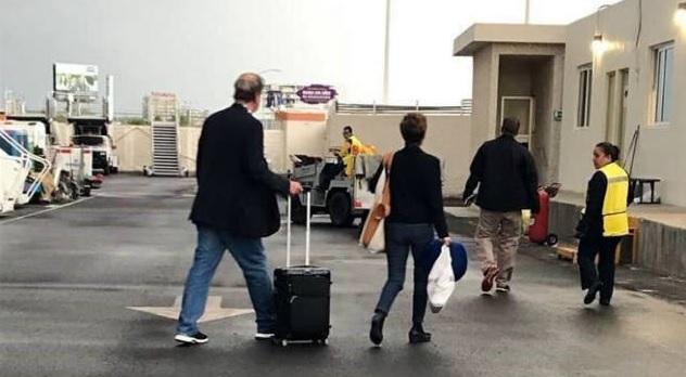 Photo of Cachan A Fox & Martitha Evadiendo La Aduana Tras Regresar De Un Viaje De EU