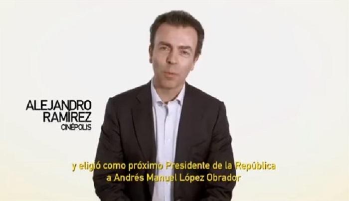 Photo of Alejandro Ramírez Y Otros Empresarios AntiAMLO Emiten Video Para Felicitar A López Obrador