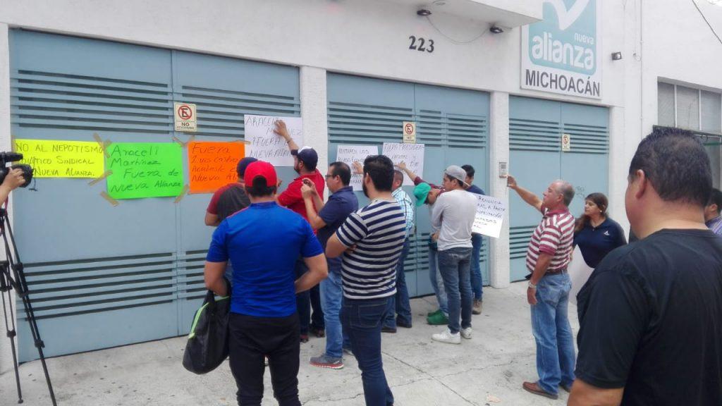 Photo of Dirigentes Del PANAL Michoacán Vendieron El Partido, Acusan Militantes