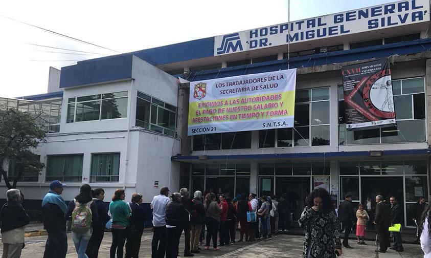 Photo of #Morelia Empleados De Salud Toman Hospital Civil Pero Sin Afectar Atención Médica: Director