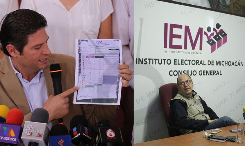IEM inconformidad Morelia Alfonso Martínez