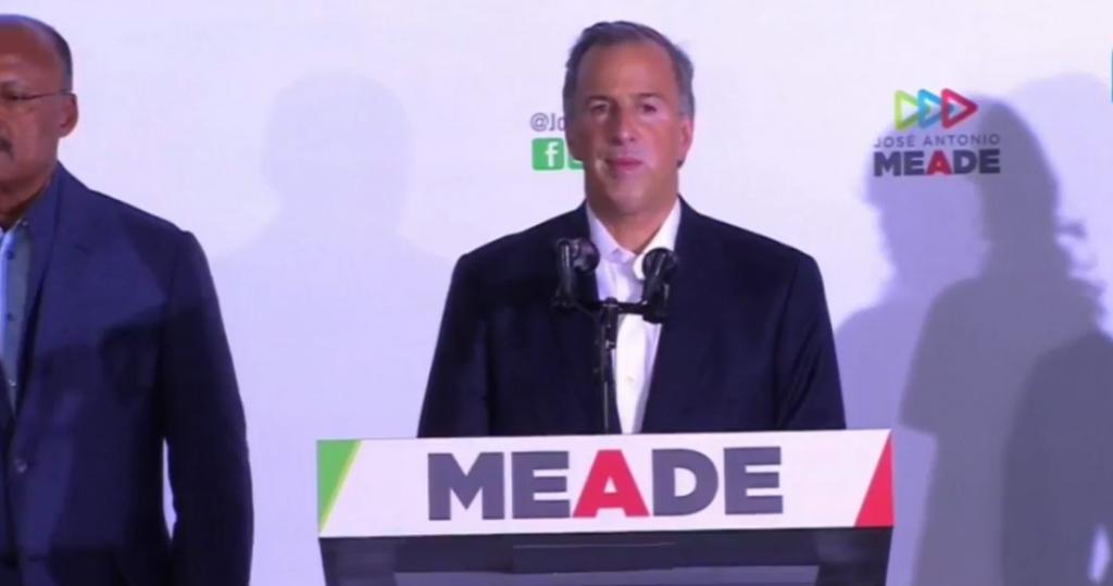 Photo of Meade Reconoce Derrota Ya Da Por Ganador A AMLO