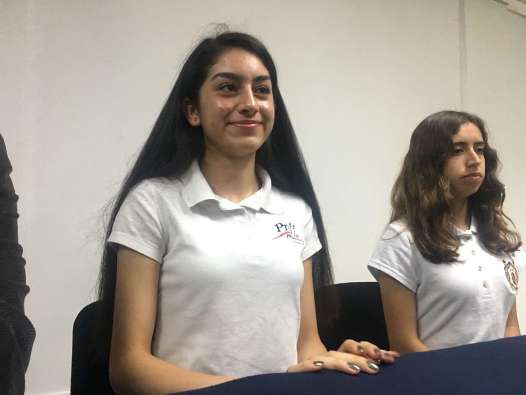 Photo of #OrgulloMichoacano Natalia López Única Mujer Finalista Olimpiada Internacional de Lógica