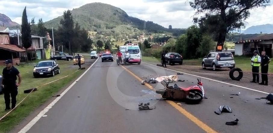 Photo of En Quiroga Vato Y Menor De Edad Muere En Accidente De Moto