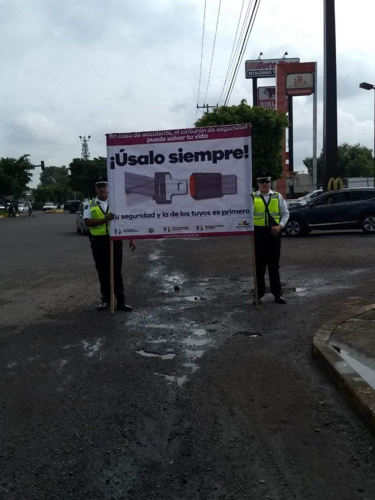 Photo of #Morelia Concientiza SSP Uso De Cinturón De Seguridad