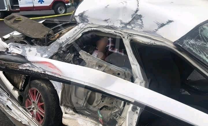 Photo of En Uruapan Roberto Muere En Trágico Choque Taxi Contra Camión